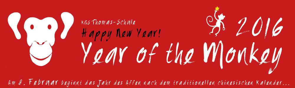 Frohes neues Affen-Jahr 2016!